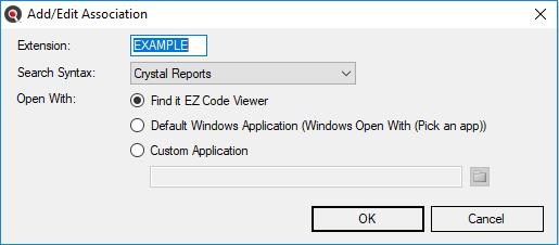 Viewer / Editor Settings